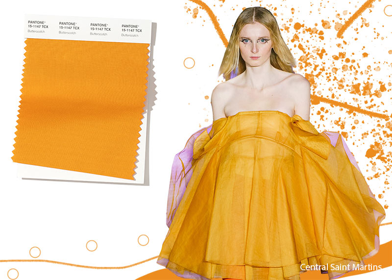 Pantone Fall/ Winter 2019-2020 Colors Trends: Butterscotch