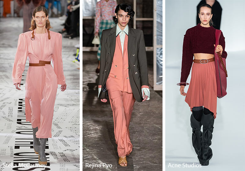 Fall/ Winter 2019-2020 Color Trends: Crabapple Peachy Pink
