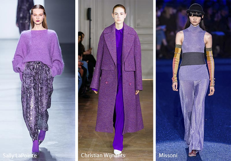 Fall/ Winter 2019-2020 Color Trends: Grapeade Mauve