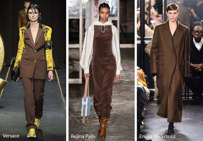 Fall/ Winter 2019-2020 Color Trends: Rocky Road Brown