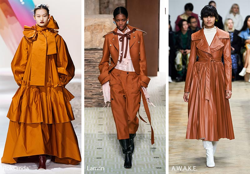 Fall/ Winter 2019-2020 Color Trends: Sugar Almond Brown