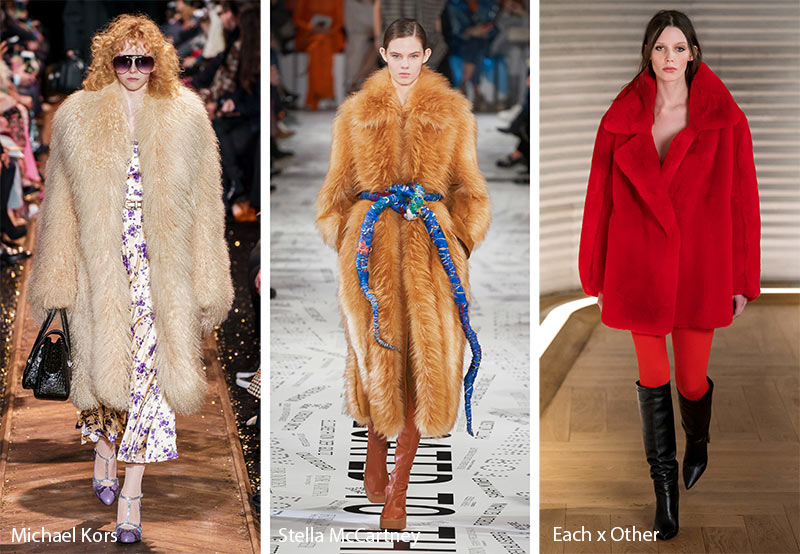 Fall/ Winter 2019-2020 Fashion Trends: Faux Fur Coats