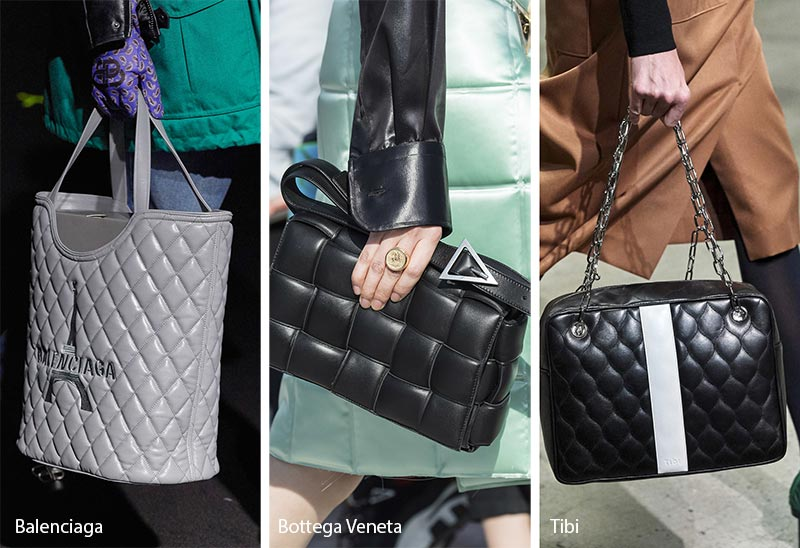 Fall/ Winter 2019-2020 Handbag Trends: Quilted Bags/ Purses