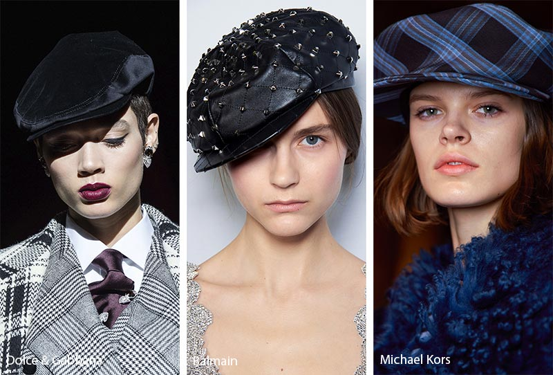 Fall/ Winter 2019-2020 Hat Trends: Newsboy Caps