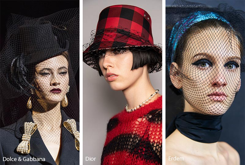 Fall/ Winter 2019-2020 Hat Trends: Veiled Hats