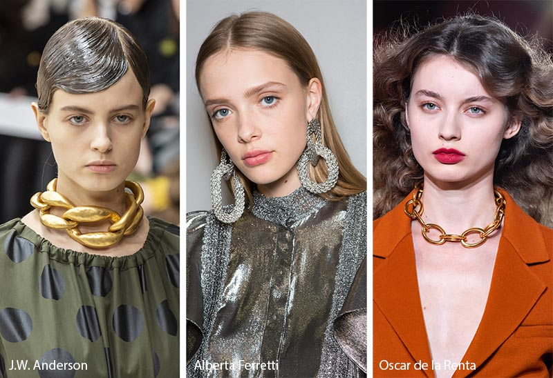 Necklace Trends 2020.Fall Winter 2019 2020 Accessory Trends Fall 2019 Jewelry