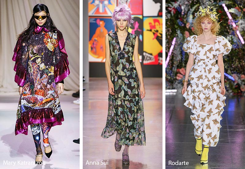 Fall/ Winter 2019-2020 Print Trends: Butterfly Patterns