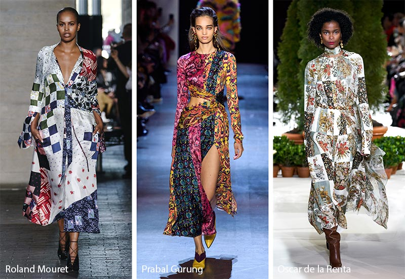 Fall/ Winter 2019-2020 Print Trends: Patchwork Patterns