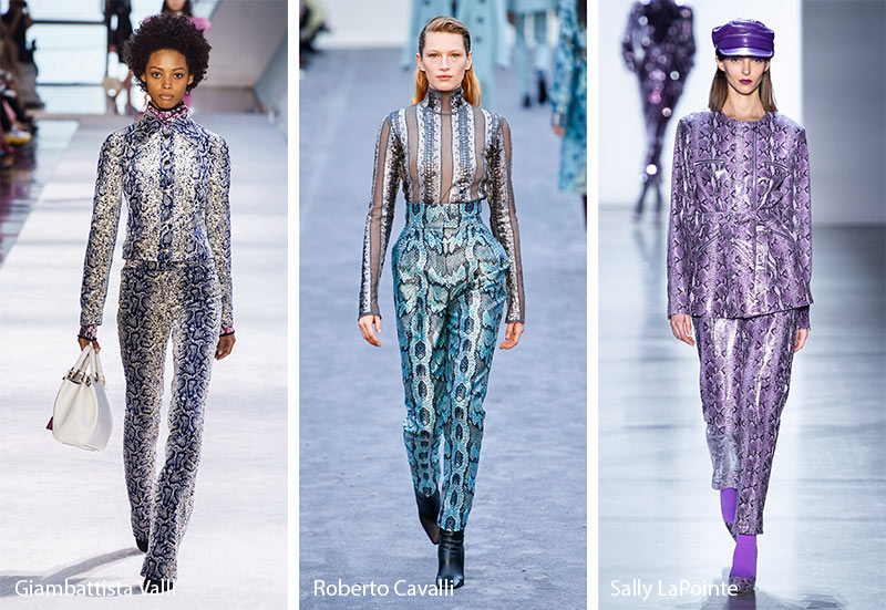 07b3dceeb Fall/ Winter 2019-2020 Print Trends: Fall 2019 Runway Patterns