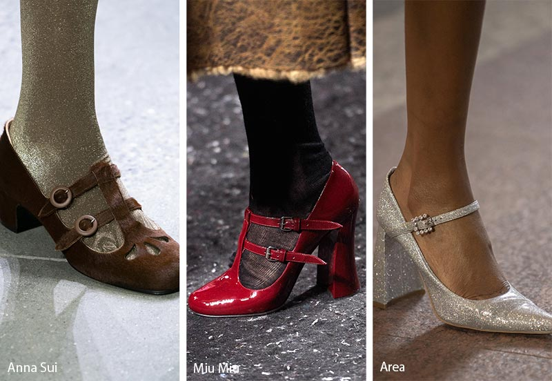 Fall/ Winter 2019-2020 Shoe Trends: Mary Jane Shoes