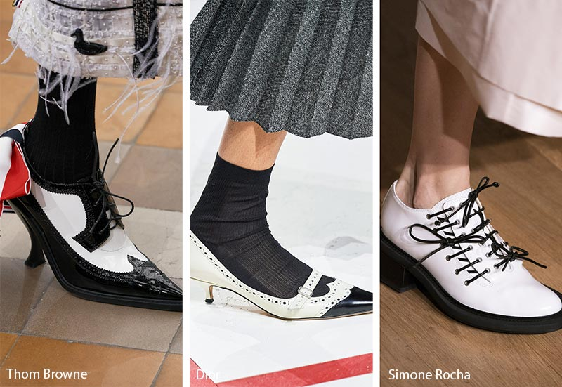 Fall/ Winter 2019-2020 Shoe Trends: Brogues