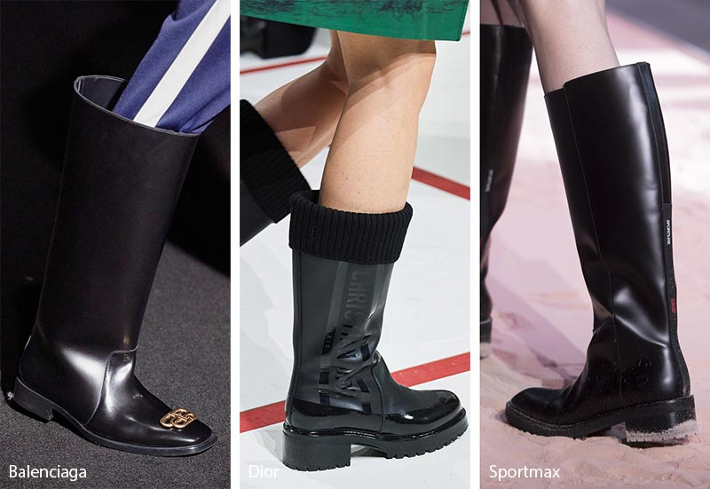 Fall/ Winter 2019-2020 Shoe Trends: Rain Boots
