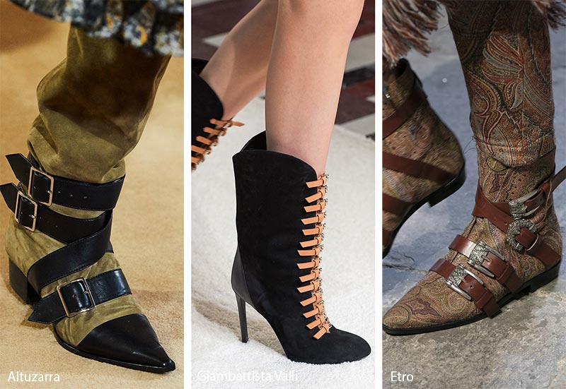 Fall/ Winter 2019-2020 Shoe Trends: Shoes & Boots with Buckles
