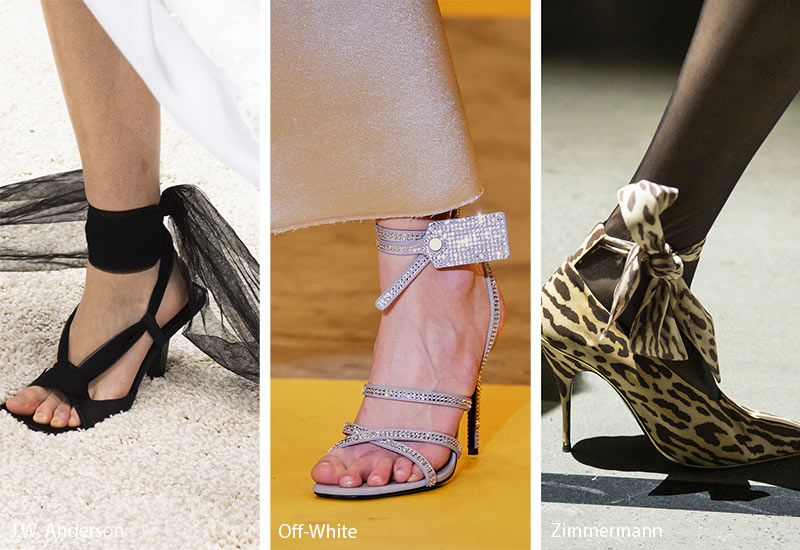 Fall/ Winter 2019-2020 Shoe Trends: Tied Around the Ankle