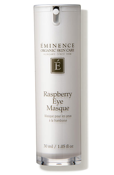 Best Under-Eye Masks & Eye Patches: Eminence Organic Skin Care Raspberry Eye Masque