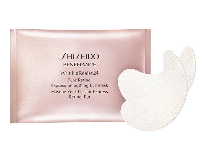 Best Under-Eye Masks & Eye Patches: Shiseido Benefiance WrinkleResist24 Pure Retinol Express Smoothing Eye Mask