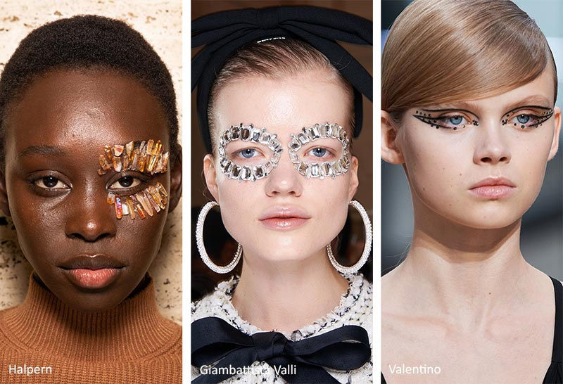 Fall/ Winter 2020-2021 Makeup Trends: Eye Appliques