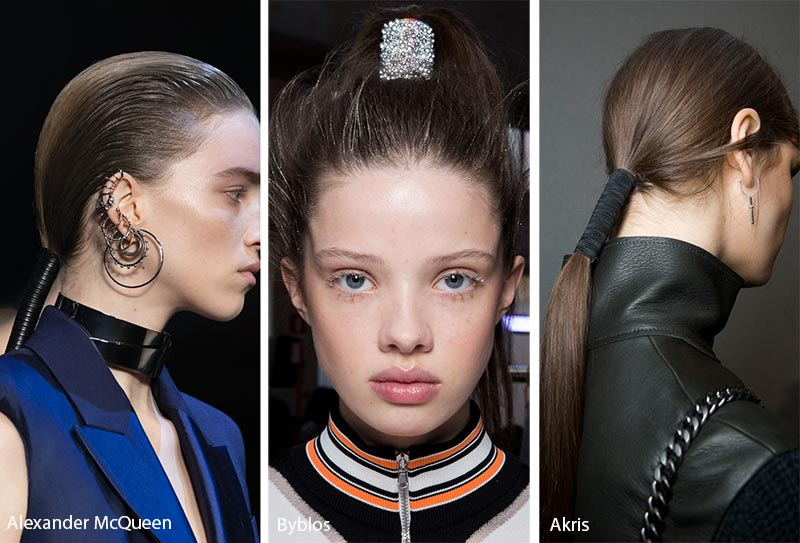 Fall/ Winter 2019-2020 Hair Accessory Trends: Wide Hair Ties