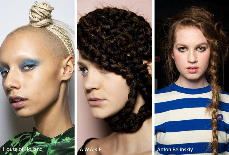 Fall/ Winter 2019-2020 Hairstyle Trends: Braided Hairstyles