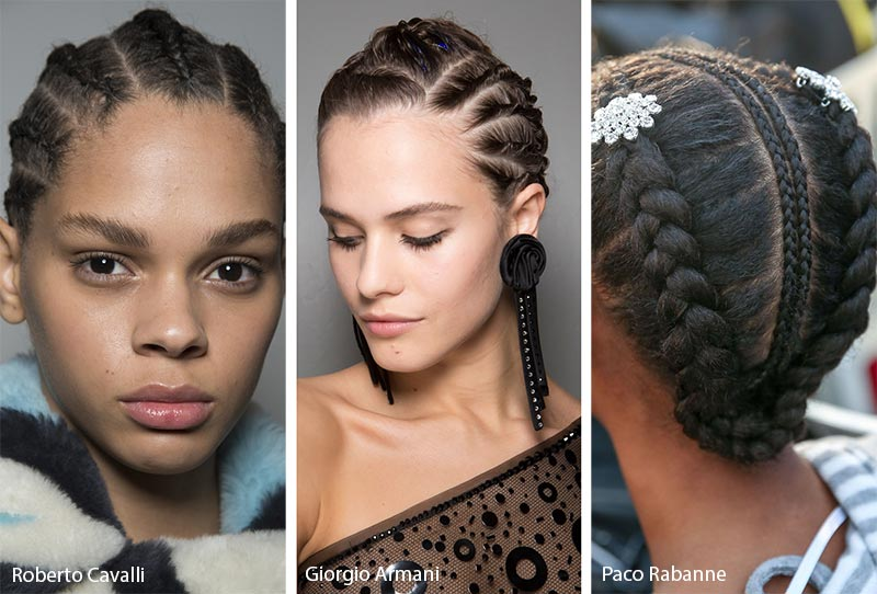 Fall/ Winter 2019-2020 Hairstyle Trends: Cornrows & Boxer Braids
