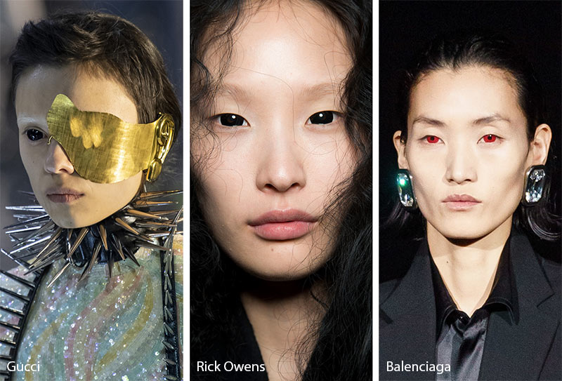 Fall/ Winter 2019-2020 Makeup Trends: Contact Lenses