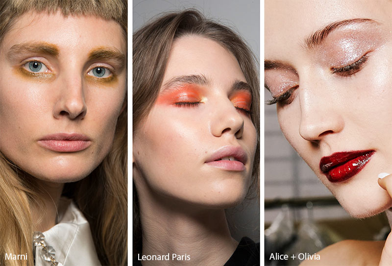 Fall/ Winter 2019-2020 Makeup Trends: Glossy Lids