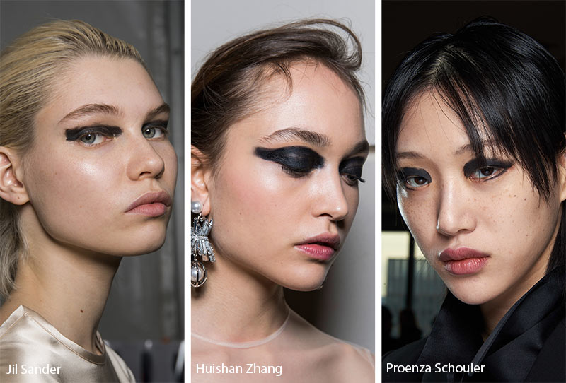 Fall/ Winter 2019-2020 Makeup Trends: Smudged Black Eye Makeup