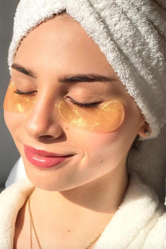 How to Apply Eye Masks