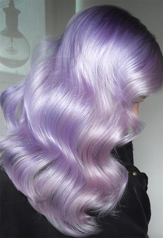 How to Choose the Best Lavender Hair Color Based on Your Skin Tone