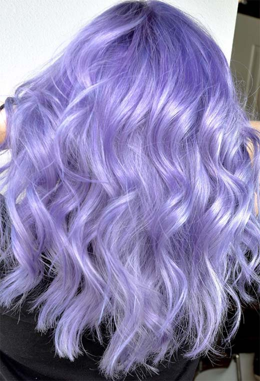 How to Dye Hair Lavender at Home