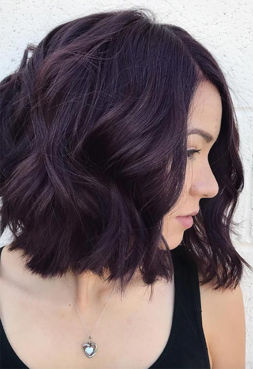 How to Dye Hair Plum at Home