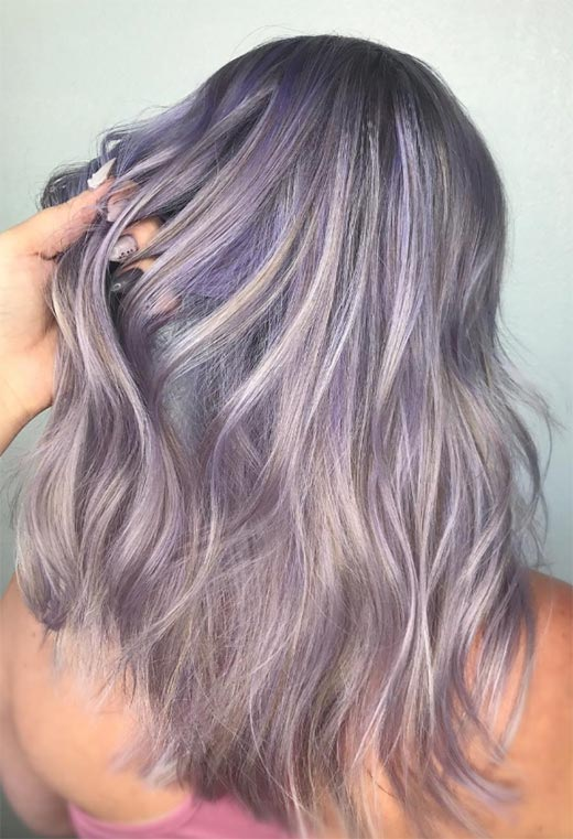 How to Maintain Lavender Hair Color
