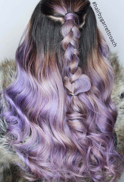 Lavender Hair Color Shades: Lavender Hair Dye Tips
