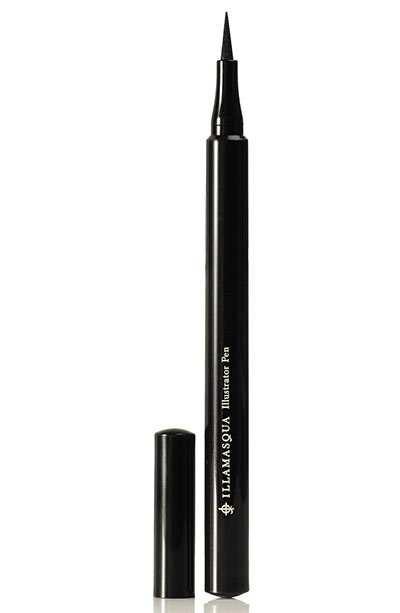 Best Liquid Eyeliners: Illamasqua Illustrator Pen Truest Black