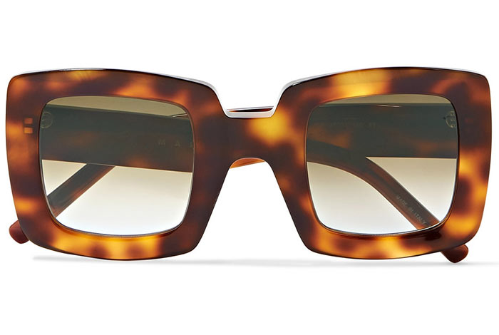 Best Oversized Sunglasses for Women: Marni Big Sunglasses