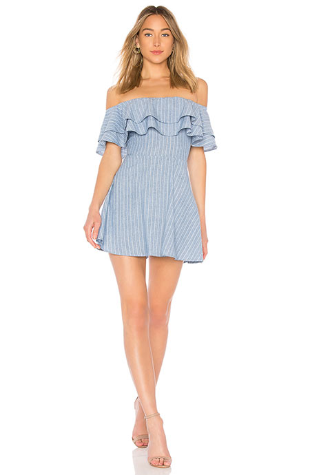 Best Short Summer Dresses: Superdown Summer Mini Dress