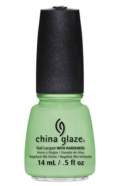 Best Summer Nail Colors: China Glaze Nail Lacquer in Highlight of My Summer CR