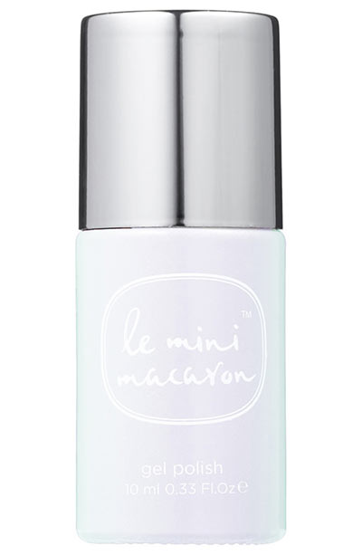 Best Summer Nail Colors: Le Mini Macaron 1-Step Gel Polish in Pearlescence