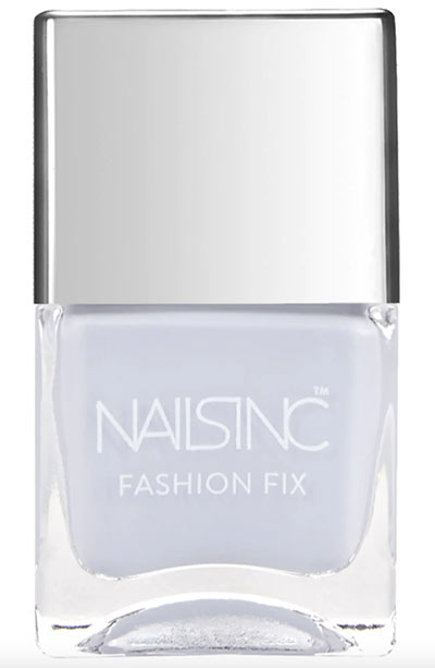 Best Summer Nail Colors: Nails Inc. Fashion Fix Nail Polish in Jeans Pur Lease