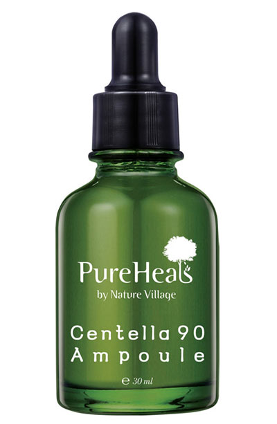 Best Tiger Grass/ Centella Asiatica Skin Care Products: PureHeals Centella 90 Ampoule