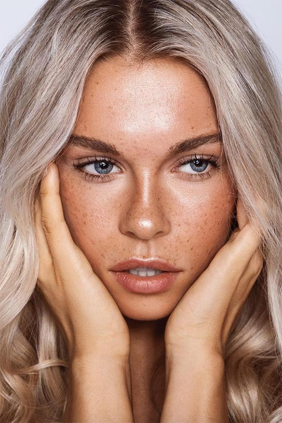 How to Create Faux Freckles with Makeup