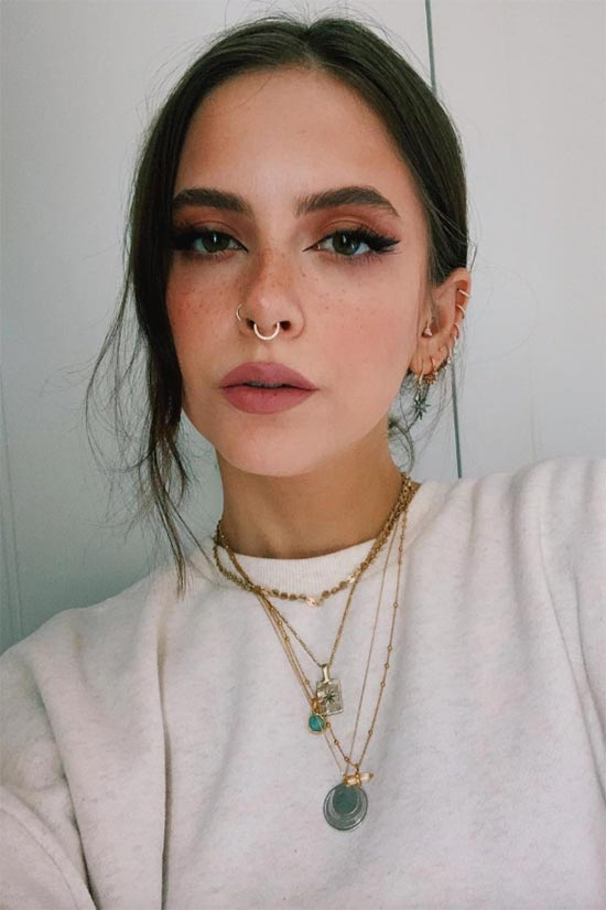 How to Draw on Faux Freckles
