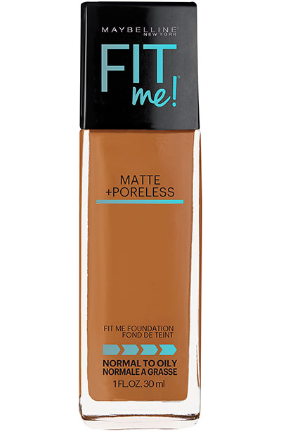 Best Walmart Makeup Products: Maybelline New York Fit Me Matte + Poreless Foundation