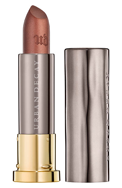 Best Brown Lipstick Shades: Urban Decay Vice Lipstick in Ember