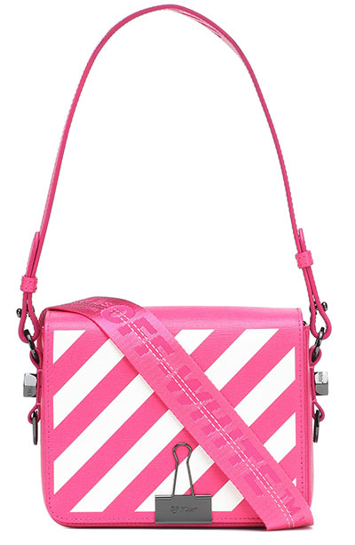 Best Designer Crossbody Bags: Off-White Binder Clip Crossbody Purse