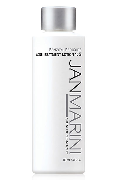 Back Acne Treatment Products: Jan Marini Benzoyl Peroxide 10 Percent