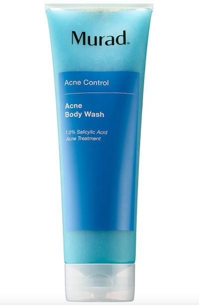 Back Acne Treatment Products: Murad Acne Body Wash