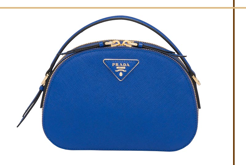 Best Prada Bags of All Time: Prada Odette Saffiano Leather Bag