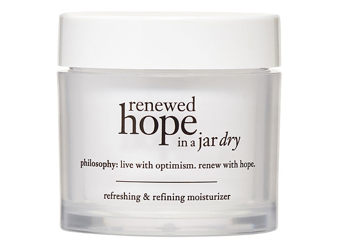 Best Walmart Skin Care Products: Philosophy Renewed Hope in a Jar Dry, Refreshing & Refining Face Moisturizer