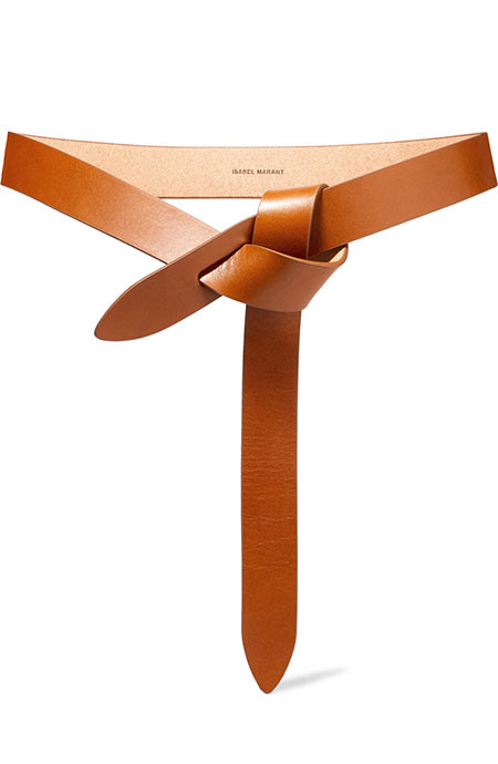 Best Designer Belts for Women: Isabel Marant Lecce Leather Belt